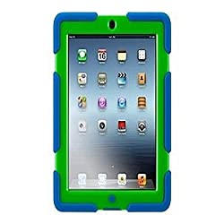 Griffin Technology GB35692 Survivor Case For iPad 2 3 And 4 - Blue And Green