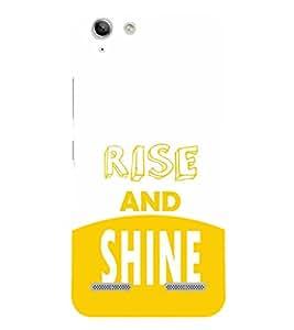 EPICCASE Rise and Shine Mobile Back Case Cover For Lenovo Vibe K5 Plus (Designer Case)