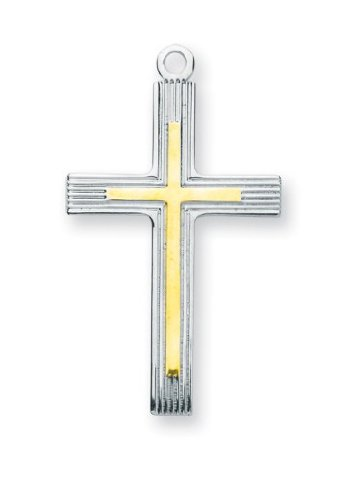 Cross Pendant, Sterling Silver with Chain