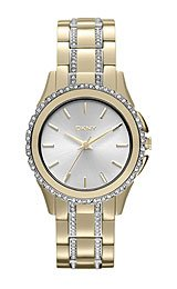 DKNY Brooklyn Stainless steel with Crystals Women's watch #NY8699