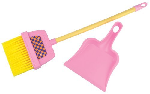 Broom and Dust Pan Set (Colors May Vary) (Play Dustpan And Broom compare prices)