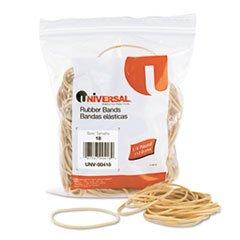Universal Rubber Bands, Size 18, 3 X 1/16, 400 Bands/1/4Lb P