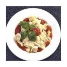 Carlas Precooked Tortellini Egg Pasta, 3 Pound -- 4 per case.