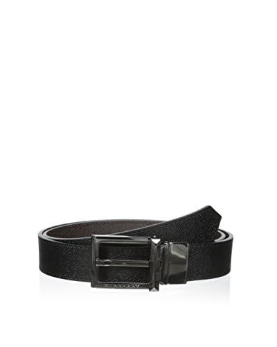 Burberry Men's Cintura Belt  [Black/brown]