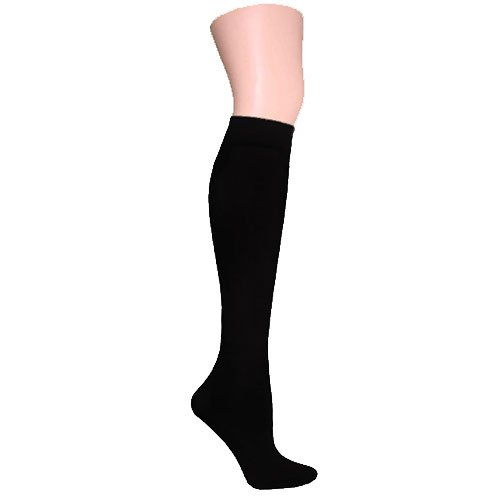 Black Knee High Trouser Socks