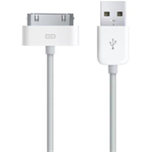 White USB Data Cable for iPhone 3G, 2G, iPod Nano, iPod Touch, iPod Classic