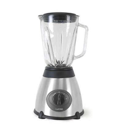 GrandGadgets Stainless Steel Blender with Glass Jug 1.5 Litres