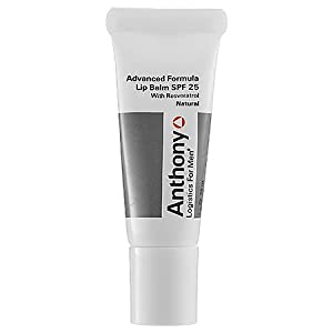 Anthony Logistics Natural Lip Balm SPF 25 for Men, 0.25 Ounce from Anthony For Men, L.L.C.