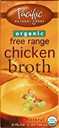 Pacific Foods Organic Chicken Broth-32 Oz