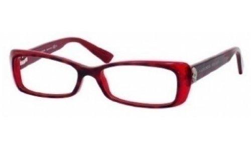 Alexander McQueenAlexander Mcqueen Eyeglasses 4184 0EV0 00 in Havana Red