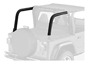 Bestop 80020-15 Black Denim Sport Bar Cover for 97-02 Wrangler TJ with or without factory soundbar