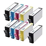 Hp Compatible ink cartridges Replaces 364XL High Capacity Printer Ink Cartridges CN684EE CB323EE CB324EE CB325EE HP Photosmart 7510, 7520, B8550, B8553, B8558, C5324, C5370, C5373, C5380, C5383, C5388, C5390, C5393, C6324, C6380, C6383, D5460, D5463, D54