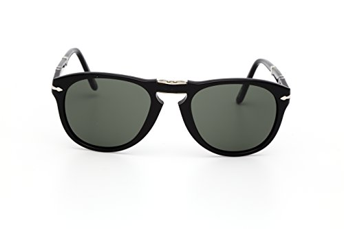 Persol 0714 Black 95/58 Polarised 52mm