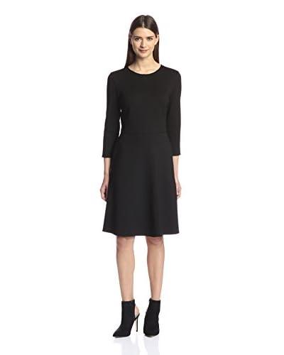 Natori Women's Knit Fit & Flare Dress