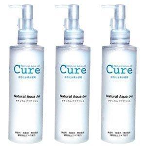 3-pack-of-cure-natural-aqua-gel-250ml-best-selling-exfoliator-in-japan-japan-import