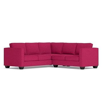 Catalina 2 Piece L-Sectional Sofa - Pink Lemonade