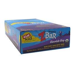 Clif Kid Organic Zbar Chocolate Chip - 18 - 1.27 Oz (36G) Bars [22.86 Oz (648G)] front-726168