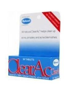 Hylands Homeopathic, Clearac Tablets, 50 Tab