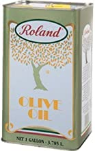 Roland Pure Olive Oil 128-Ounce Tins Pack of 4