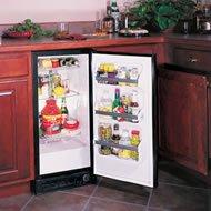 Marvel 3.0 Cu. Ft Built-In Refrigerator - Black