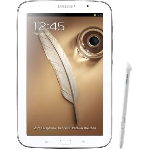 Samsung Galaxy Note GT-N5110 16 GB Tablet - 8 - Samsung Exynos 1.60 GHz - Marble White WHITE 8IN GALAXY NOTE 16GB 2 GB RAM - Android 4.1 Jelly Bean - Slate - Multi-touch Screen 1280 x 800 WXGA Display - Bluetooth
