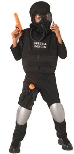 Special Forces Officer Child Costume front-1067380