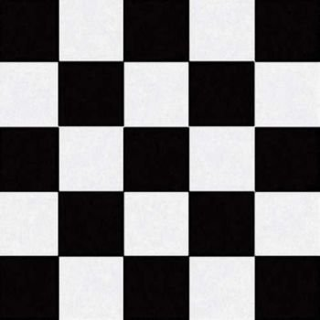 Creative Converting 50 Count Lunch Napkins, Black Check