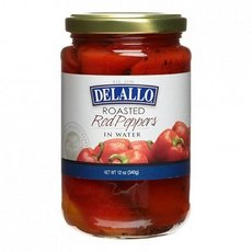De Lallo Roasted Red Peppers In Water 12x 12Oz (Roasted Red Peppers In Water compare prices)