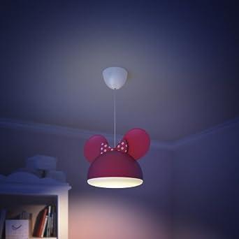 Minnie-Maus-Motiv f/ür Kinder Philips Lampenschirm