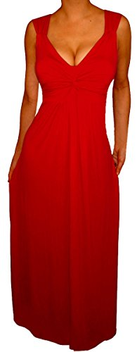Uc1 Funfash Slimming Red Long Maxi Dress New Plus Size Cocktail Dress 1X Xl 16