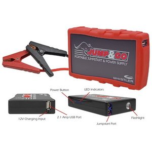 Jump & Go By Whistler Wjs-3000P Jump & Go Portable Jump Starter (Pink) front-72907