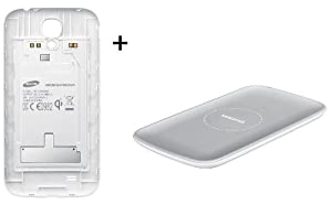 Samsung Galaxy S4 Wireless S Charger Kit (inductive type) - Wireless Charging Black Cover & Pad
