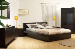 Lifestyle Solutions Zurich 6 Piece Cappuccino Bedroom Set