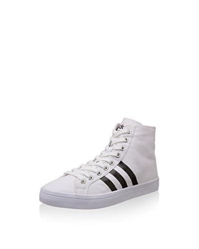 adidas Hightop Sneaker Courtvantage Mid Ftwwht/Cblack/Metsil