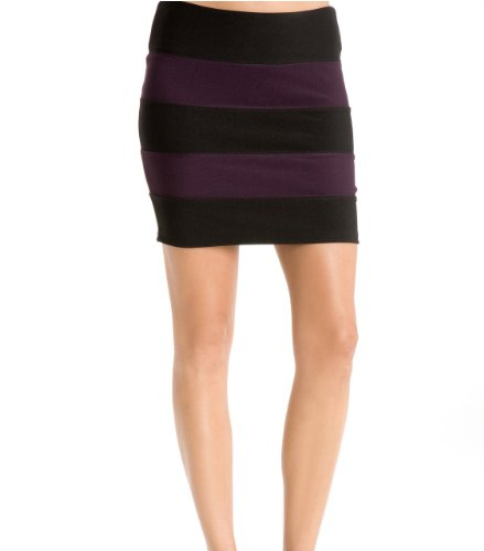 G by GUESS Lola Banded Mini Skirt