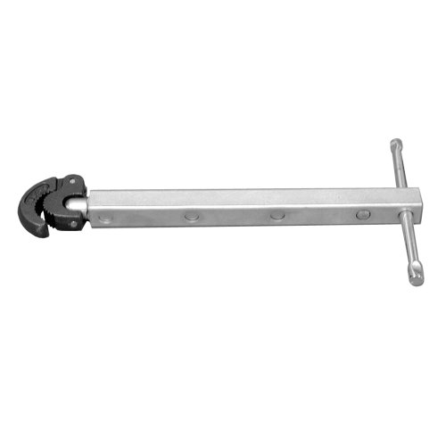 PlumBest B11010R1 10-Inch-17-Inch Telescoping Basin Wrench with Spring-Load Jaw