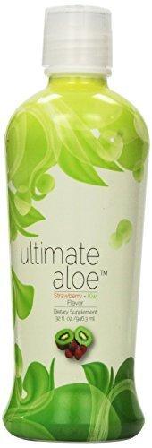 Ultimate Aloe Strawberry Kiwi Juice - Single Bottle (32 oz./946.3 ml.) by Market America (Aloe Juice Market America compare prices)
