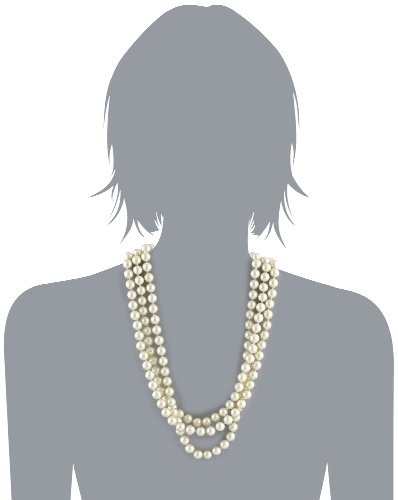 Kenneth Jay Lane Cultura Costume Pearl Necklace, 72