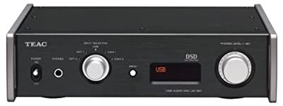 Teac Dual Monaural D/A Converter with USB Streaming, Black UD-501-B