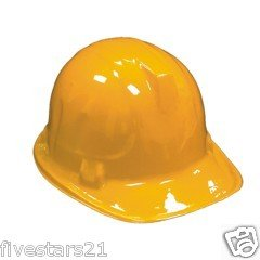 Child Construction Hats - 12 Pack