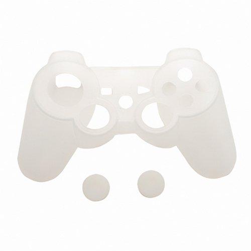 CYBER・シリコンジャケット<クリアホワイト>(PS3用)