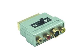 G & BL Péritel - 3 RCA / SVHS sélectionnable (Import Allemagne)