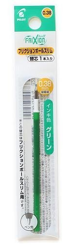 Friction balle slim de Mèche de Rechange 0,38 mm [Vert] lfbtrf12ufg (Import Japon)
