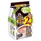 森永製菓 ミルクココア カカオ2倍プラス 18g×7袋×20袋入
