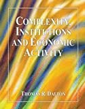 Complexity, Institutions and Economic Activity