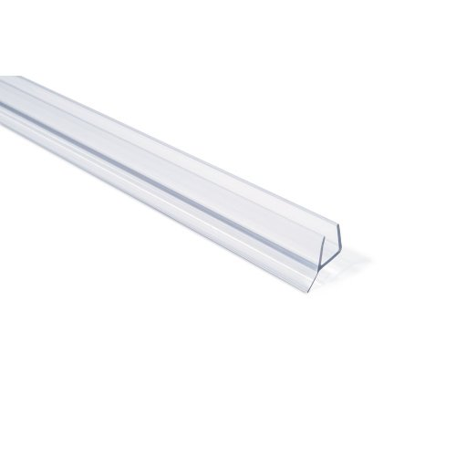 "Check Out This Frameless Shower Door Seal with Wipe for 3/8"" Glass - 30"" Long"