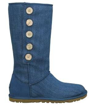 Image of Ugg Lo Pro Button Blue Denim (B004NOVG3E)