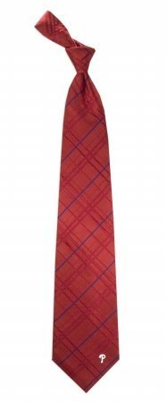 Philadelphia Phillies Oxford Stripe Woven Silk Necktie at Amazon.com