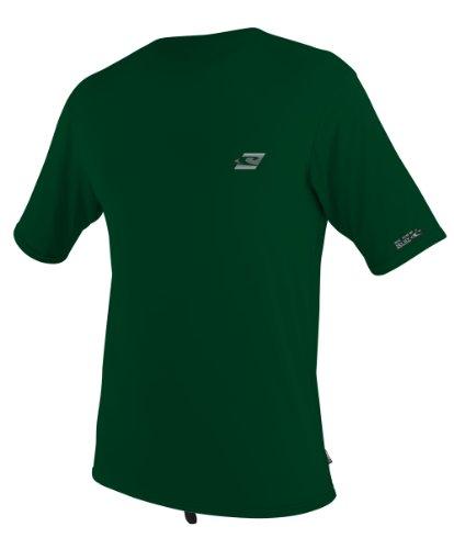 O'Neill Wetsuits Skins Short Sleeve Rash Guard T-Shirt, Combat, X-Large