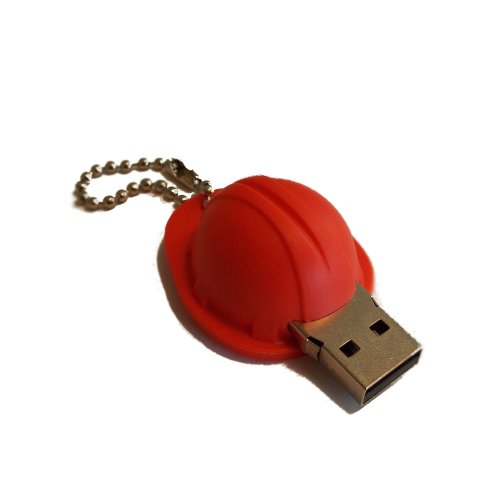 m moire memory stick cl usb casque de chantier 8go. Black Bedroom Furniture Sets. Home Design Ideas